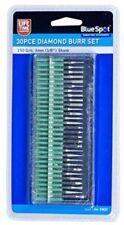 Blue Spot 19022 Diamond Burr Set 30 Pieces