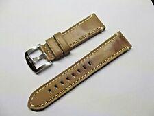 cinturino vera pelle originale primo emporio fibbia acciaio ansa 22 mm watch
