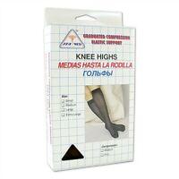 Ita-Med 18-20 mmHg Medium Compression Knee Highs Style 160 Medium Black
