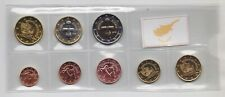CYPRUS 2019 COMPLETE EURO COINS SET UNC IN PLASTIC