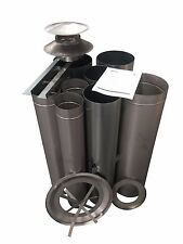 "Wood Fire Flue Kit - 150 (6"") Stainless ABFK15S"