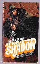 HIDDEN DEATH by Maxwell Grant - The Shadow 1970 Bantam pulp paperback