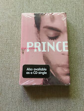 "Prince ‎– ""Pink Cashmere"" & ""Soft And Wet"" Cassette Tape Single Factory Sealed!"