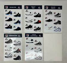 Fila Sticker Pack Sneakers 96 Stackhouse OG Stickers Vintage Rare