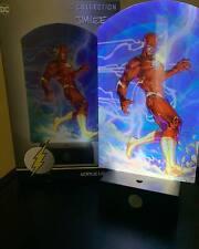 WB DC Comics Collection The Flash USB Acrylic Light Jim Lee Desk Lamp Brand New