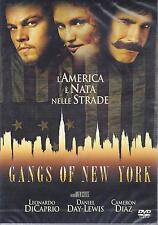 Dvd **GANGS OF NEW YORKI** Slimcase di Martin Scorsese con L. Di Caprio C.Diaz