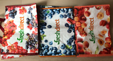Fresh Direct - Reusable Grocery Shopping Bags LARGE 12x18x12 Strong! PICK ONE!