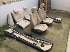 Incl. transformación bmw e92 lci Coupe individual beige pálido cuero equipamiento asientos de piel