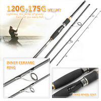 2.1M 3.0M Portable Fishing Spinning Casting Lure Rod Fiber Carbon Fishing Pole