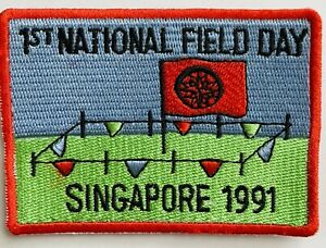 ROYAL RANGERS Patch Singapore 1st National Field Day Vintage Asia