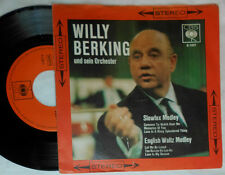"WILLY BERKING SLOWFOX MEDLEY / ENGLISH WALTZ MEDLEY 7 "" SINGLE"