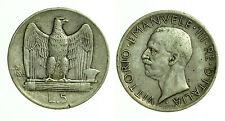 pci0364) Regno Vittorio Emanuele III Lire 5 Aquilino 1926