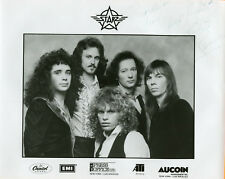 'THE STARZ' B/W GLOSSY 8 X 10 PROMO PHOTO (AUTOGRAPHED TO RECORDS AND MORE)