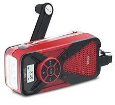 ETON FR1 Weather Alert Radio (AM/FM/NOAA),Cell Pn Charger, LED 2000MAh Case of 4