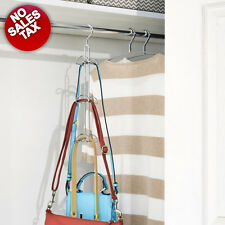 Hanging Purse Handbag Bags Hats Holder Storage Closet Rod Hanger Organizer NOTAX