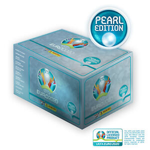 Panini UEFA EURO 2020™ Pearl Edition official sticker collection 100-Box