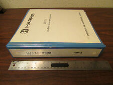 Harris VW-3 Time Base Corrector/Synchronizer Op & Maint Manual 1986
