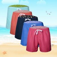 US STOCK Mens Swimming Board Shorts Swim Shorts Trunks Swimwear Beach Surf Pants