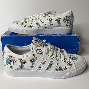 Adidas Original X Disney Sport Goofy Sneaker Shoes White FW0645 Men's Size 11