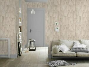 RASCH WALLPAPER 446623 WOOD EFFECT  **OUR PRICE £15.95**