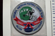 Willabee Ward New York Jets 25th Anniversary Patch ONLY 1984