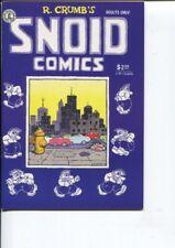 SNOID COMICS 1 2ND PRINT NM- R. CRUMB 1986