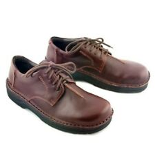 Naot Arik Men 11 Yukon Leather Shoes Brown Lace Up Loafers New 44