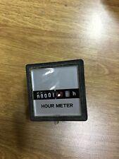 Contaore 230 VOLT installazione da pannello a 5 cifre