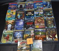 estate collection vintage PC CD-ROM computer video games, lot 3 of 5 boxes NICE