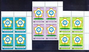 Kuwait 1986 MNH 3v in Blk, Rt Up,  World Health Day, Healthy Living