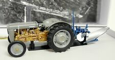 UH 1/32 Scale Ferguson FE35 + Rumpstad Plough Display Box diecast model Tractor