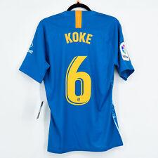 2018-19 Atletico Madrid Player Issue Third Shirt #6 KOKE La Liga Jersey
