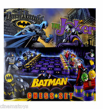 The Batman Chess Set DC Comics Dark Knight VS Joker Scacchiera NOBLE COLLECTION