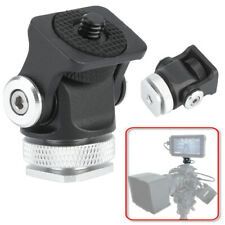 Up/Down Adjustable Hot Shoe Mount Monitor Microphone Flash Holder Camera Bracket