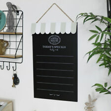 Wall mounted chalk board coffee house blackboard vintage shabby chic home gift