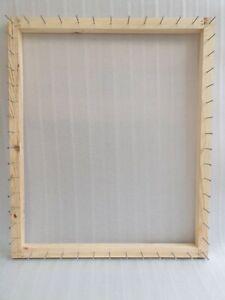 Frame/loom to make pom pom blankets 31.5 x 26 inches instructions large pom poms