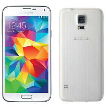 "Unlocked White 5.1"" Samsung Galaxy S5 G900F 16GB 4G LTE Smart Phone 2GB RAM"