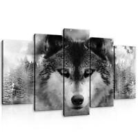 CANVAS Leinwand bilder XXL Wolf Bild Wandbild