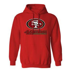 San Francisco 49ers Hoodie Hooded Sweat Shirt Sweatshirt Sweater SF Niners