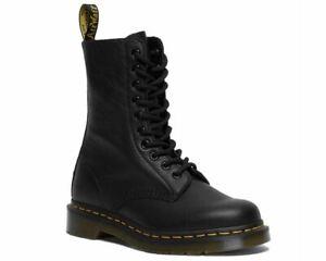 Sale Ladies Dr Martens 1490 Virginia Leather Boots Black RRP £159