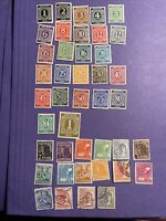 Germany, Joint allied occupation zone 1946-1947 ,42 Stamps, Mix, See Photos