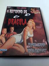 """DVD """"EL RETORNO DE DRACULA"""" PAUL LANDRES FRANCIS LEDERER NORMA EBERHARDT"""
