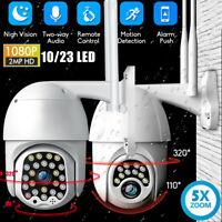 1080P HD IP CCTV Camera Waterproof Outdoor WiFi PTZ 2MP Security Wireless IR Cam