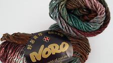 450 g NORO Kama RESTPOSTEN Farbe 5 Wolle / Seide / Alpaca / Kid Mohair / Angora
