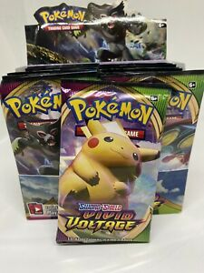 Pokemon TCG Trading Card Game -  Sword and Shield - Vivid Voltage Booster Pack