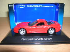 AUTOART CHEVROLET CORVETTE COUPÉ MODELO 1998 rojo red , 1:64