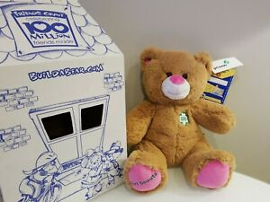 """Build A Bear Girl Scout Bear Plush 15"""" w/ tags NEW RETIRED"""