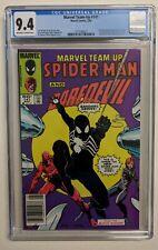 Marvel Team-Up #141 CGC 9.4 NEWSSTAND FIRST BLACK COSTUME 3 way Tie