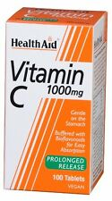 Health Aid Vitamin C 1000mg - Prolonged Release <br> 100 Tablets