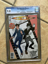 DOCTOR WHO #1 cgc 9.8 First Issue of FIRST 10th Doctor ONGOING IDW Series 2009